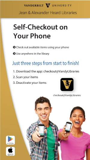 Self checkout on your phone!