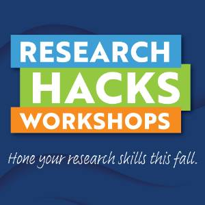 Research Hacks Workshop