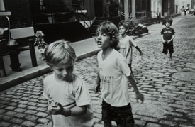 Cobblestoned, Leonard Street, from the series Tribeca
