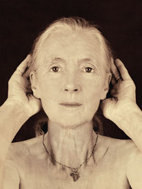 Jane Goodall, 67, from Wise Women: A Celebration of Their Insights, Courage, and Beauty