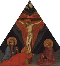 The Crucifixion with the Virgin, Mary Magdalene and St. John the Evangelist