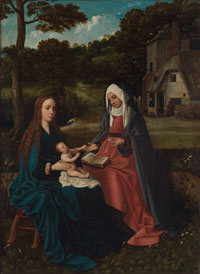 Madonna and Child with St. Anne, date unknown