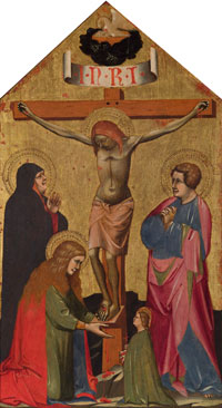 The Crucifixion with the Virgin Mary, St. Mary Magdalene, St. John the Evangelist, and a Female