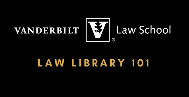 Law Library 101